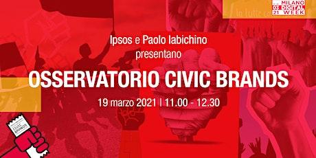 Osservatorio Civic Brands alla Milano Digital Week biglietti
