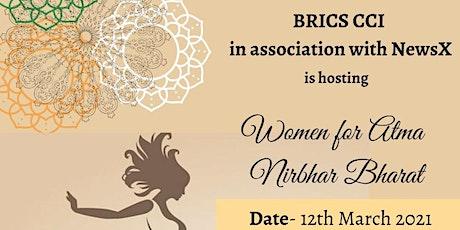 Women for  AtmaNirbharBharat tickets
