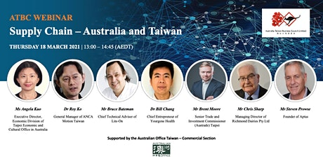 Supply Chain - Australia and Taiwan tickets