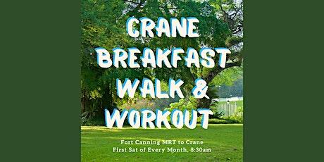 Crane Breakfast Walk & Workout with Heloise tickets