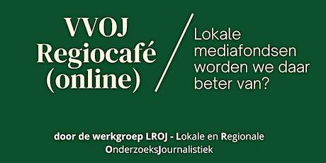 VVOJ Regiocafé tickets