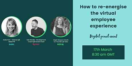 How to re-energise the virtual employee experience tickets