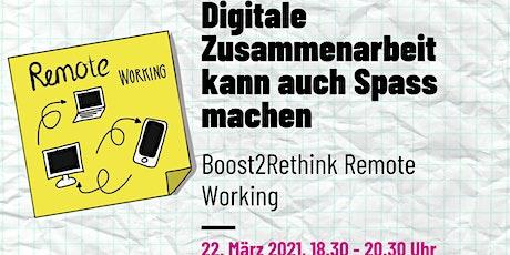 Liberating Sructures - Digitale Zusammenarbeit kann auch Spass machen Tickets