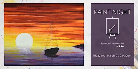 Paint Night - Dreamy Paradise tickets