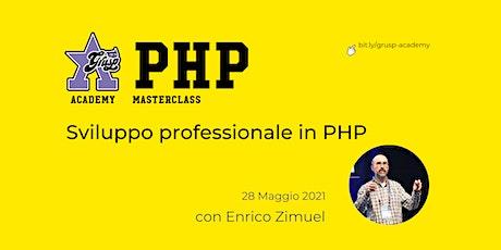 Sviluppo professionale in PHP [GrUSP Academy - PHP Masterclass] biglietti