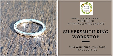 Silversmith Ring Workshop tickets