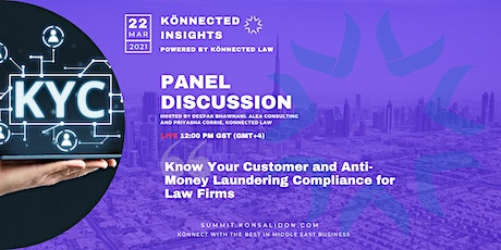 Know Your Customer and Anti-Money Laundering Compliance for Law Firms tickets
