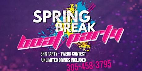 Spring Break Booze Cruise Miami - Boat Party tickets