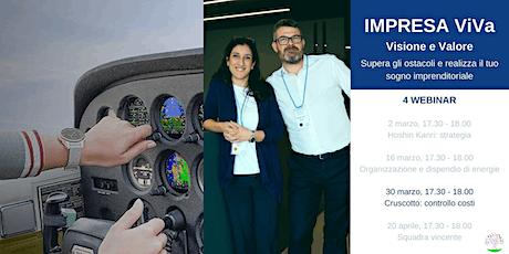 WEBINAR IMPRESA ViVa - Cruscotto: controllo costi entradas