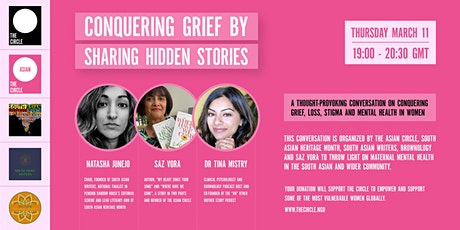 Conquering Grief through our Hidden Histories tickets