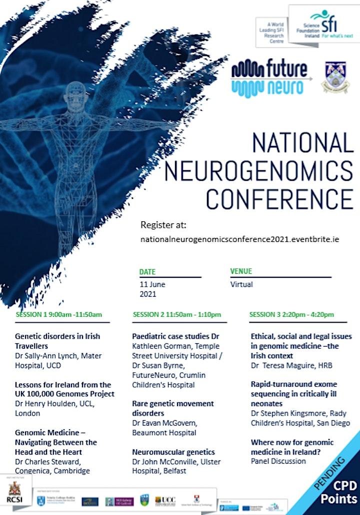 National Neurogenomics Conference image
