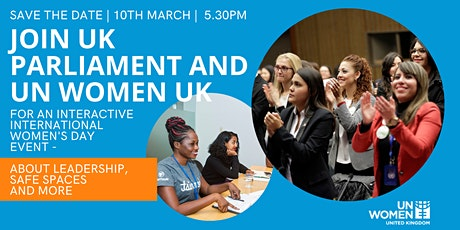International Women's Day with UK Parliament and UN Women UK tickets