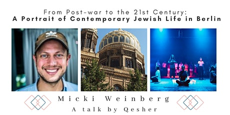 From Post-war to the 21st Century: Contemporary Jewish Life in Berlin tickets