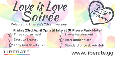 Love is Love Soirée (Liberate's 7th anniversary) tickets