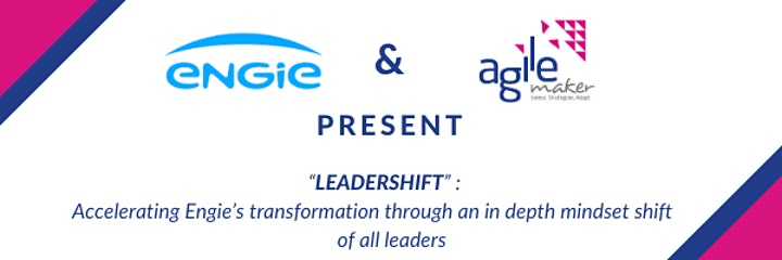 Image pour AGILEmaker conference cycle: LeaderShift @ ENGIE
