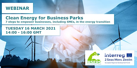 Webinar – Clean Energy for Business Parks tickets