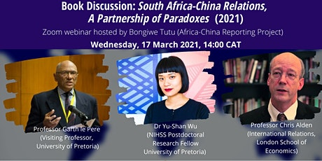 Book Discussion: South Africa–China Relations. A Partnership of Paradoxes tickets