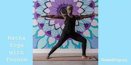 Mindwalk Yoga: Hatha Yoga with Yvonne tickets