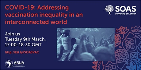 COVID-19: Addressing vaccination inequality in an interconnected world tickets