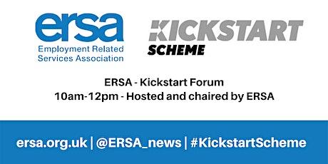 ERSA Kickstart Forum tickets
