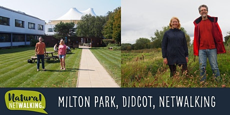 Natural Netwalking in Milton Park, Didcot, Thurs 15th July 8am-10am tickets
