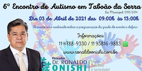 6º Encontro de Autismo em Taboão da Serra ingressos