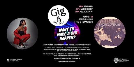 Gig Starters - Palmerston North tickets