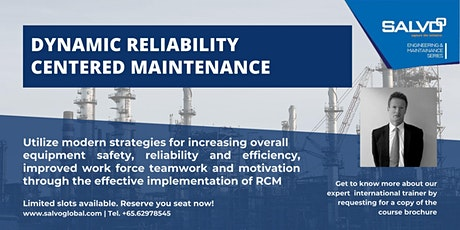 Dynamic Reliability Centered Maintenance tickets