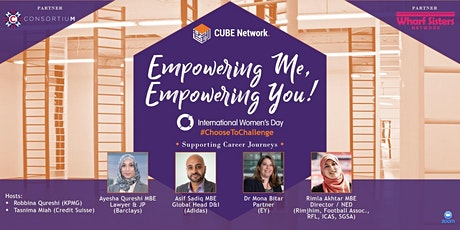 Empowering Me, Empowering You: International Women's Day tickets
