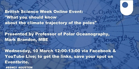 What you should know about the climate trajectory of the poles tickets