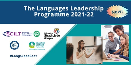 The Languages Leadership Programme 2021-22 tickets
