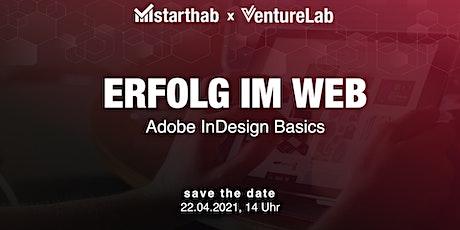 Adobe InDesign Basics biglietti