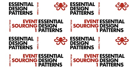 Essential Design Patterns: #07 Event Sourcing 1 biglietti