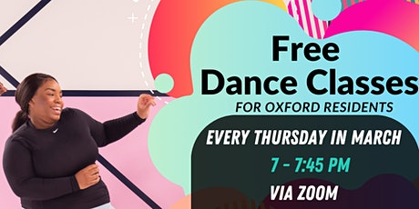 EMPOWERED MOVEMENT - FREE DANCE CLASSES FOR OXFORD RESIDENTS tickets