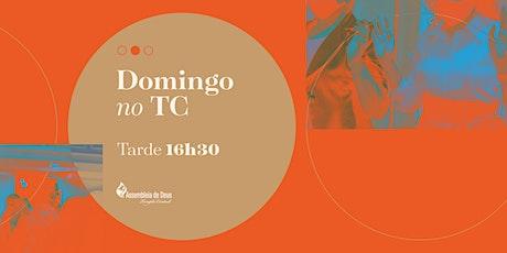 Culto de Celebração -  DOMINGO - 28/02/2021- 16:30H ingressos