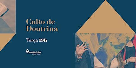 CULTO DE DOUTRINA - 02/03/2021 - 19H ingressos