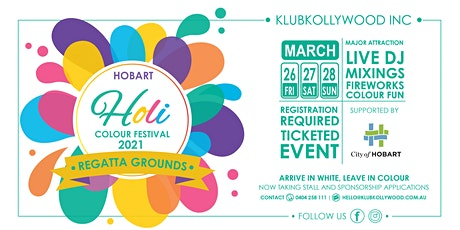 Hobart Colour Festival 2021 || HOLI tickets