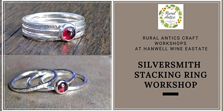 Silversmith Stacking Ring Workshop tickets
