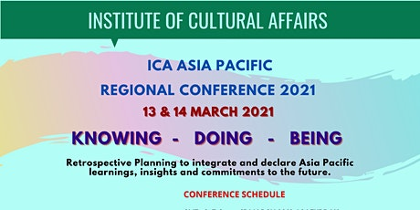 ICA ASIA PACIFIC CONFERENCE 2021 tickets