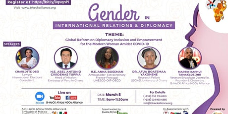 Gender Activism in International Relations & Diplomacy tickets