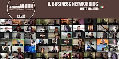 Meet&WORK ON-LINE in Breakout Room 12/05/2021 biglietti