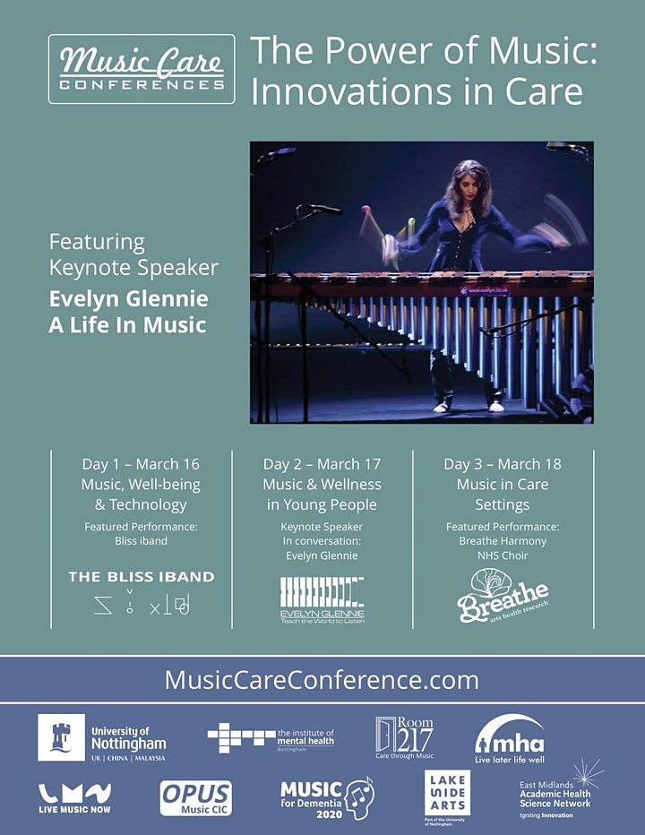 Music Care Conference 2021 March 16 - 18 image