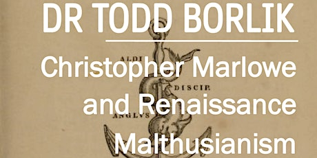 QMUL English Postgraduate Research Seminar: Dr Todd Borlik tickets