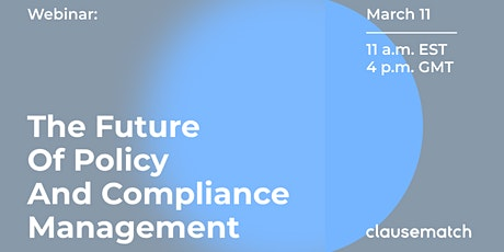 The Future of Compliance and Policy Management tickets