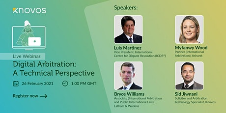 Digital Arbitration: A Technical Perspective tickets