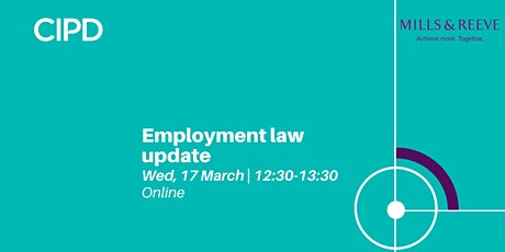 Employment law update | Annual employment law masterclass tickets