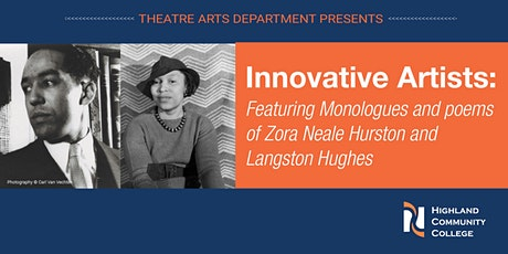 Innovative Artists: Zora Neale Hurston & Langston Hughes Monologues & Poems tickets