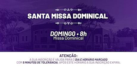 Santa Missa Dominical - Domingo | 28 de Fev. 8h ingressos