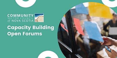 CSCNS Capacity Building Open Forums tickets
