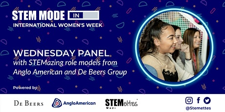 STEM MODE IN - International Women's Week: Wednesday Panel tickets
